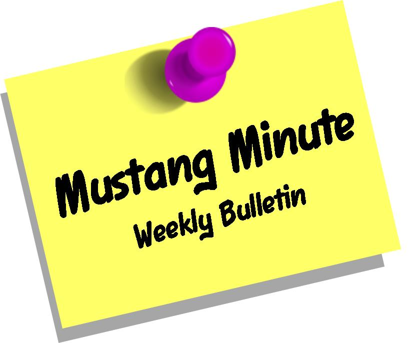 Mustang Minute Newsletter