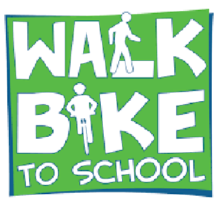 Walk and Bike to School Day Logo
