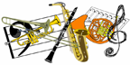 Band and Orchestra Concert Icon