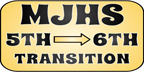MJHS 5th to 6th Grade Transition icon