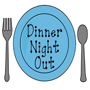 Dinner Night Out Icon