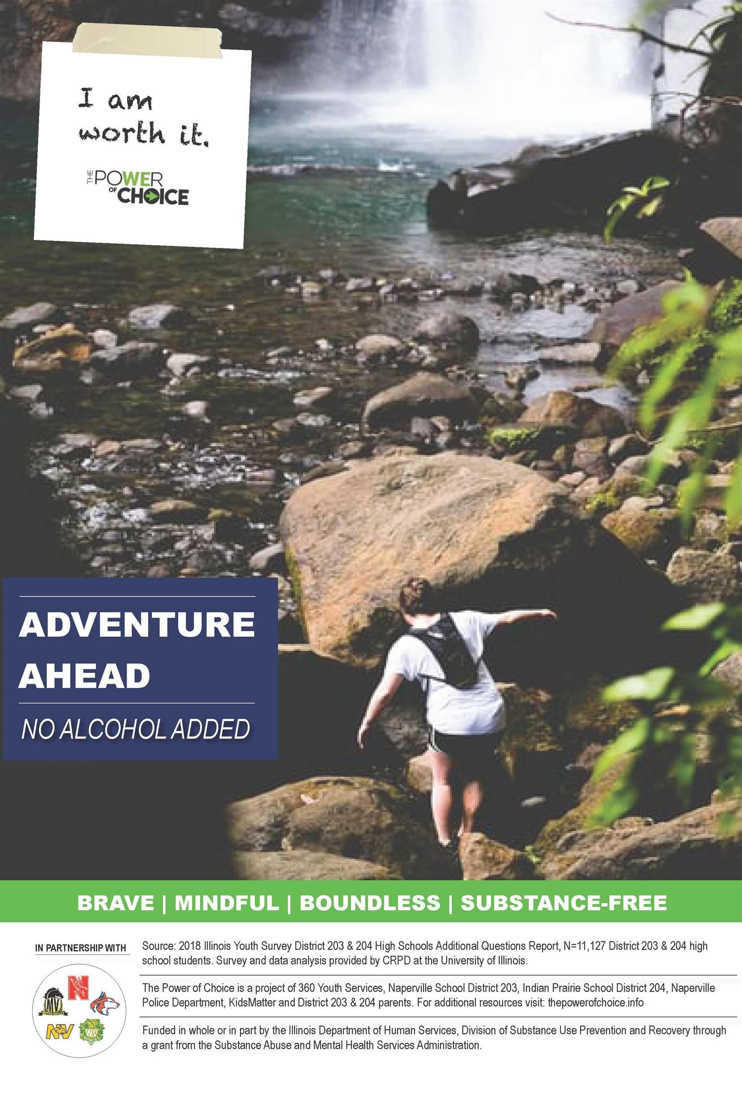 Adventure ahead: No alcohol added