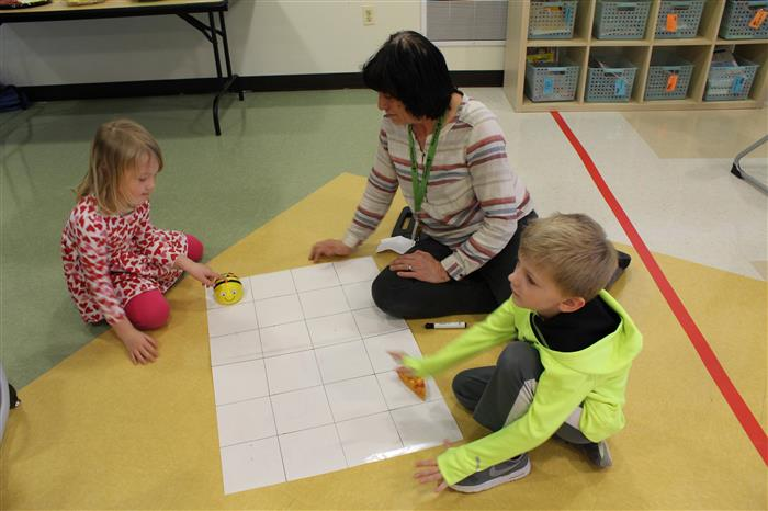 Ann Reid Early Childhood Hour of Code Event