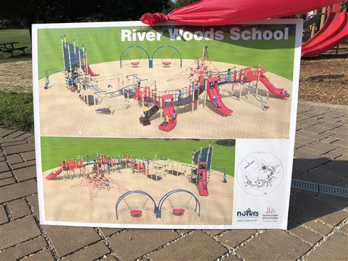 River Woods Playground Drawing