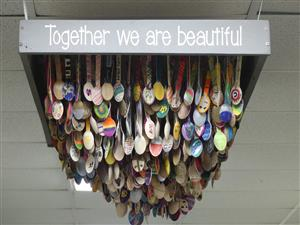 Together We are beautiful art