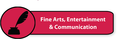 Fine Arts, Entertainment & Communication button