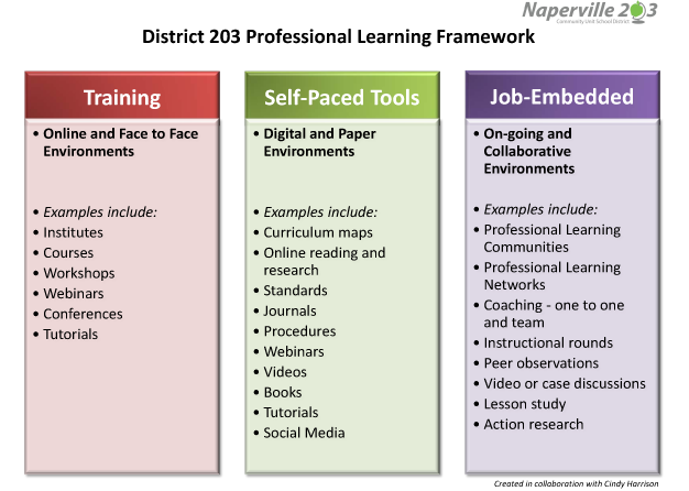 Professional Learning Framework