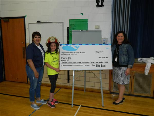 Highlands Elementary School Donates to Local Charity