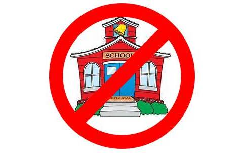 No School image