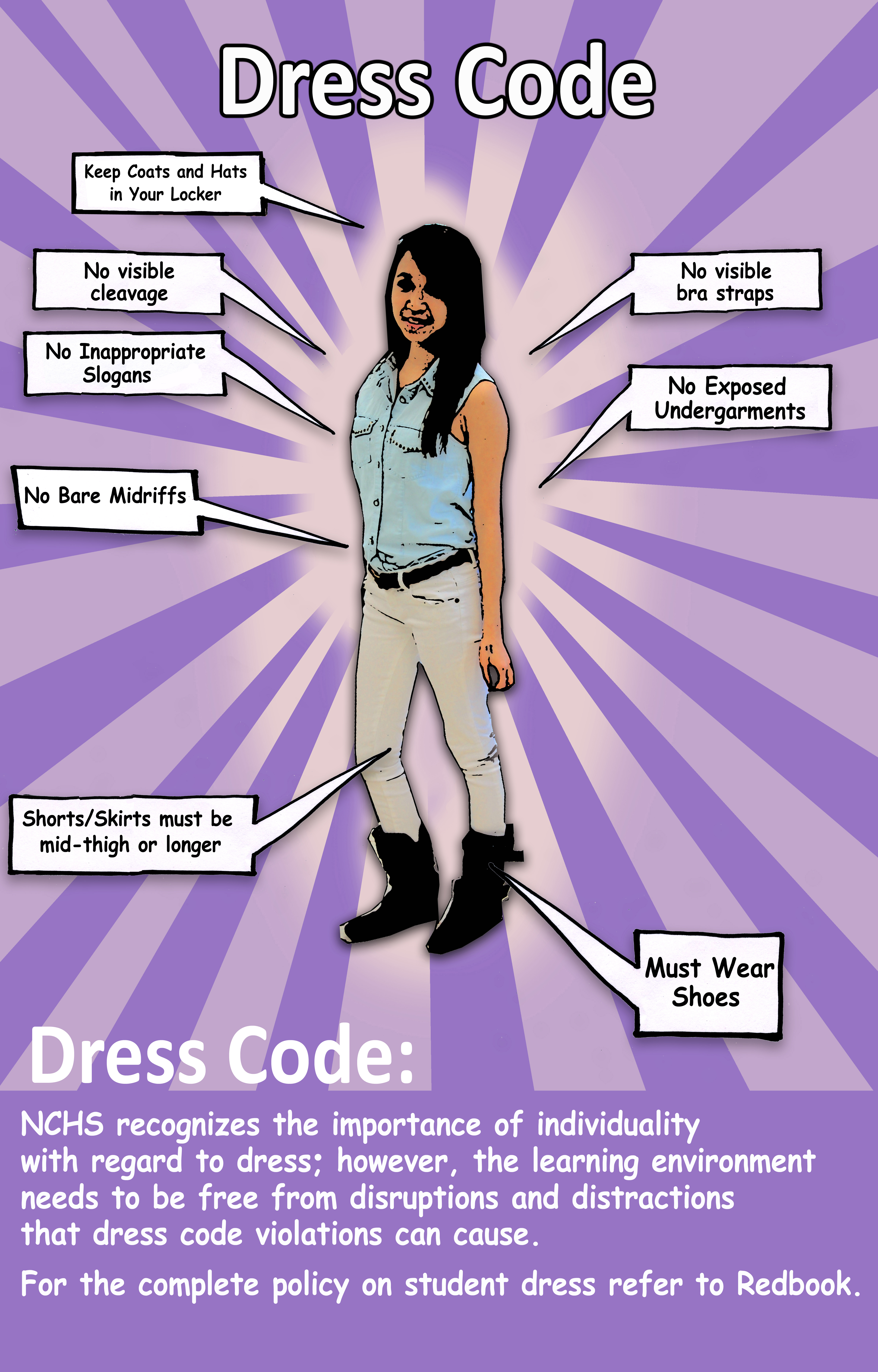 the pros and cons of using dress codes in school The pros: no shaming: no student can show off his or her wealth by dressing better than others, and no student can be embarrassed for wearing cheap or old clothes appearing as equals is a good thing, both for school spirit and fairness (ever noti.