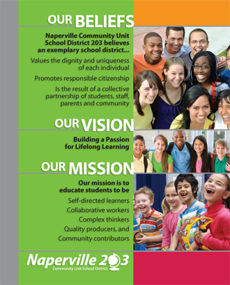 Beliefa, Vision and Mission poster